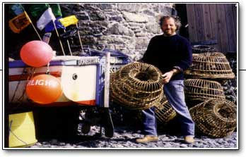 Nigel Legge - Fisherman Artist and Willow Lobster Pot Maker